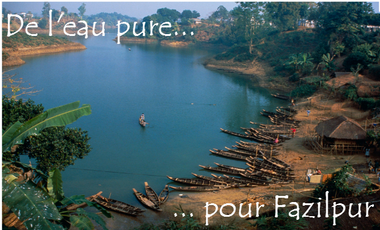 Project visual De l'eau pure pour Fazilpur