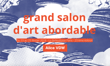 Visueel van project Grand Salon d'Art Abordable - Alice VDW