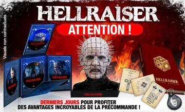 Project visual HELLRAISER EN HD - LA TRILOGIE EN CULT'EDITION