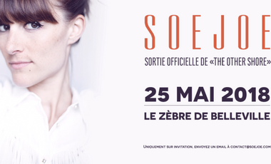 """Visueel van project Support the official release of """"The Other Shore"""", SoeJoe's second EP !"""