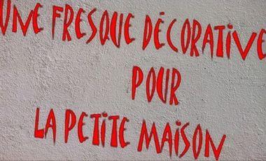 Project visual Fresque décorative - C.A.D - Petite Maison