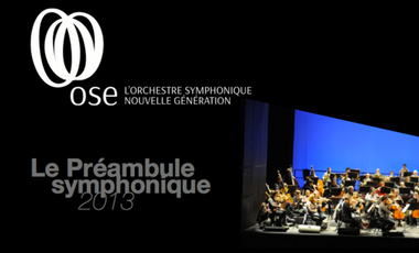 Visueel van project Le préambule symphonique 2013