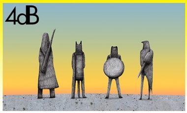 Visueel van project 2ème album de 4dB: ANIMAL