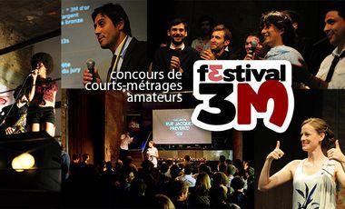 Visuel du projet Festival 3M - Concours de courts-métrages amateurs