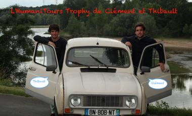 Project visual L'humaniTours Trophy de Clément et Thibault