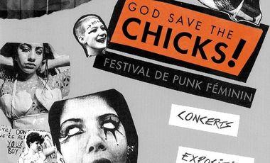 Visuel du projet God Save The Chicks! Festival