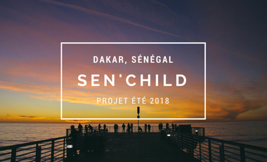Visueel van project Sen'Child Sénégal - été 2018