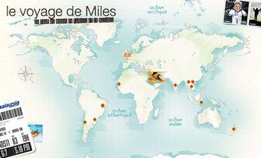 Visuel du projet Le Voyage de Miles