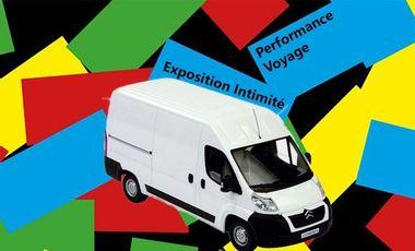 Visuel du projet Exposition Intimité: Performance de voyage pour transport de la pièce maitresse