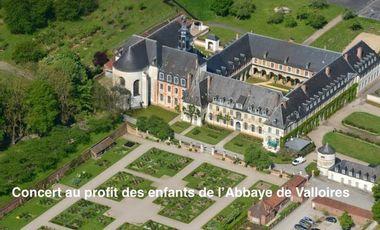 Project visual Concert au profit des enfants de l'Abbaye de Valloires