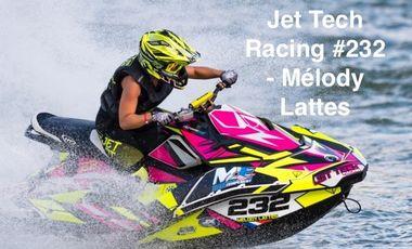 Visuel du projet Jet Tech Racing #232 - Mélody Lattes