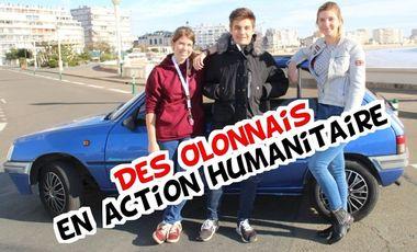 Visueel van project Des Olonnais en action humanitaire