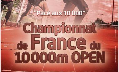 """Visuel du projet CHAMPIONNAT DE FRANCE DU 10000m """" OPEN """""""