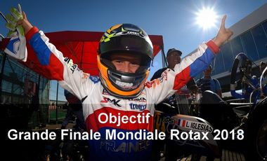 Project visual Objectif Finale Mondiale Rotax 2018