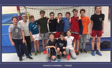 Project visual Chaville Handball : survêtements pour 14 joueurs