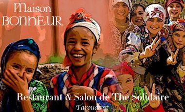 """Project visual Restaurant , Salon de Thé Solidaire """" La Maison Bonheur"""""""