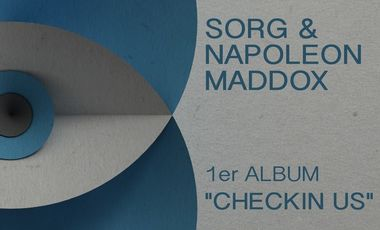 "Project visual Sorg & Napoleon Maddox •1er ALBUM ""Checkin Us"""