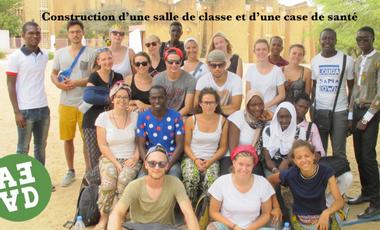 Visuel du projet SOLIDARITE AU SENEGAL   Salle de classe et case de santé à Ndade