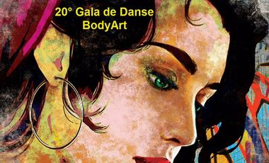 Project visual 20° Gala de danse BodyArt
