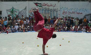 Visueel van project Culture pour les enfants réfugiés du camp de Balata, Palestine