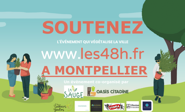 Project visual Les 48h de l'Agriculture Urbaine à Montpellier