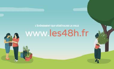 Visuel du projet Les 48H de l'Agriculture Urbaine à Nantes