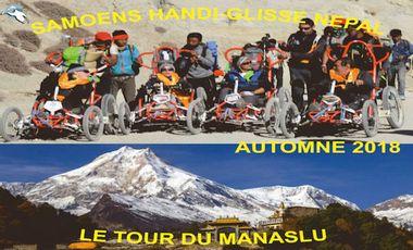 Visueel van project le tour du Manaslu en fauteuil (FTT)