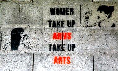 Visuel du projet WOMEN TAKE UP ARMS TAKE UP ARTS