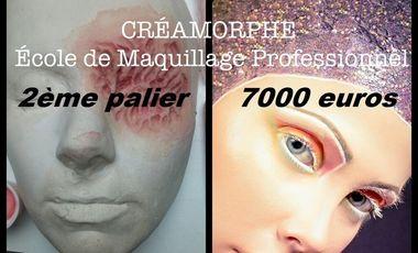 Visueel van project CREAMORPHE  Ecole de maquillage professionnel et d'effets spéciaux