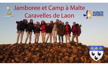 Visuel du projet Caravelles de Laon: Jamboree et Camp à Malte