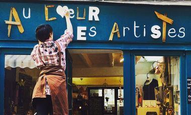 Visueel van project Au cœur des Artistes - le nouveau projet