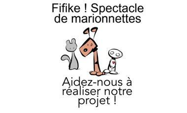 Visueel van project Fifike ! - spectacle de marionnettes