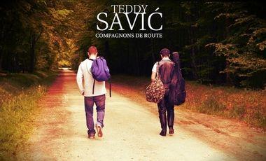 "Visuel du projet Teddy Savić - Album ""D'âme Slave"""