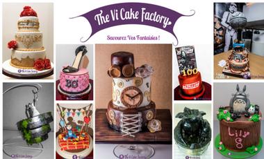 Visueel van project Savourez vos Fantaisies avec The Vi Cake Factory !