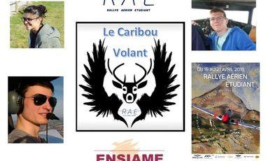 Visueel van project Rallye Aérien Etudiant : Le caribou volant