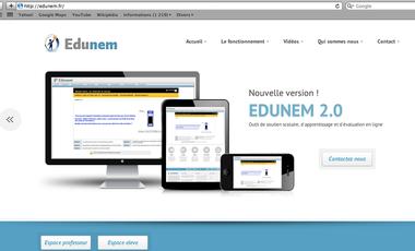 Visuel du projet EduNem