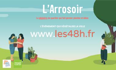Project visual Les 48h de l'Agriculture Urbaine à Strasbourg