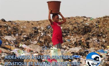 Visueel van project Aidez-nous à lutter contre le plastique et sauver les tortues !