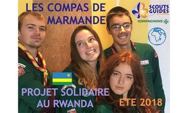 Project visual Projet solidaire au Rwanda - Les Compas de Marmande
