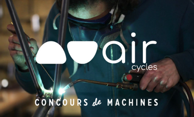 Visueel van project Air cycles au concours de machines 2018