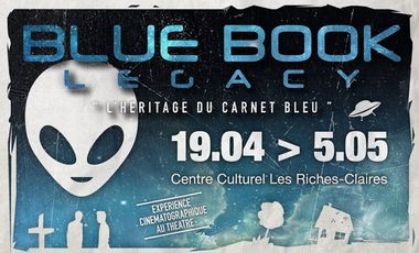 "Project visual ""Blue Book Legacy"" par la  Maxbuster Company"