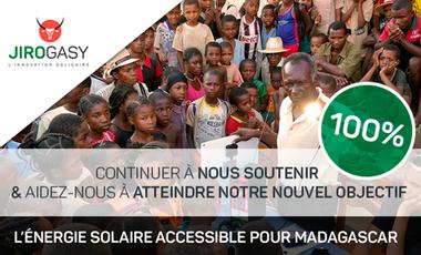 Project visual JIROGASY - L'énergie solaire accessible pour Madagascar