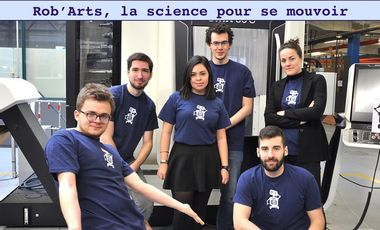 Visueel van project Rob'Arts, la science pour se mouvoir