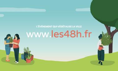 Project visual Les 48h de l'Agriculture Urbaine à Grenoble