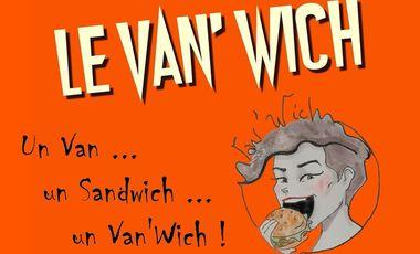 Visueel van project Aidez le van à sandwich à devenir le véritable van'wich