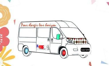Project visual Une camionnette pour les MENA.