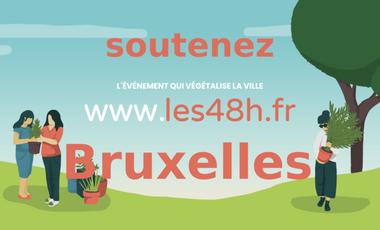 Project visual Les 48h de l'Agriculture Urbaine à Bruxelles