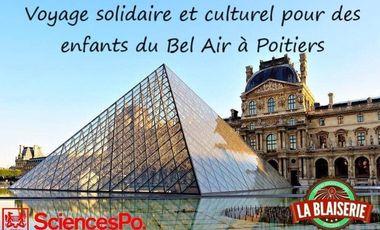 Project visual Voyage culturel et solidaire  à Paris