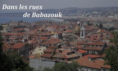 """Visuel du projet """"Dans les rues de Babazouk"""""""