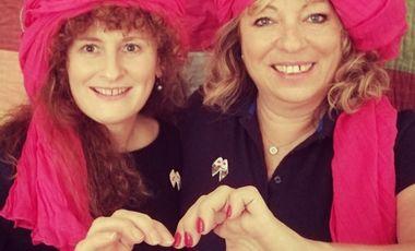 Visueel van project Luttons ensemble contre le cancer avec 'Raid cœur d'Argan'